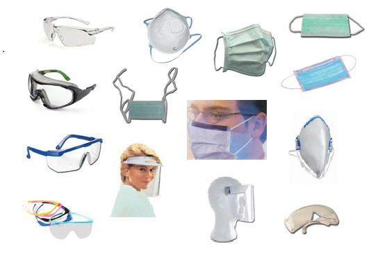 Maschere Occhiali protettivi