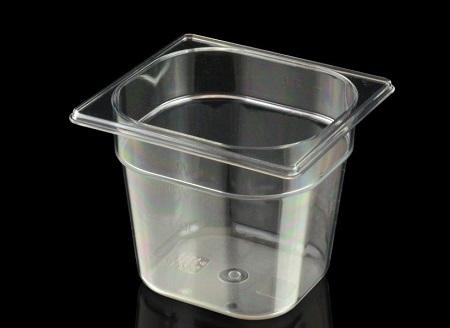 Gastronorm 1/6 176×162 mm in Tritan