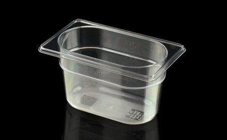 Gastronorm 1/9 108×176 mm in Tritan