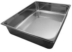GST2/1P200  Contenitore Gastronorm 2/1 h200 mm in acciaio inox AISI 304