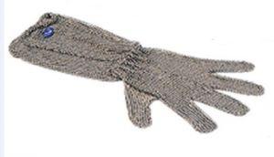 AV4901 Guanto inox antinfortunistico a cinque dita lungo