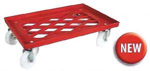 CB1449 Carrello ABS per cassetta impasti pizza 60x40 senza manico