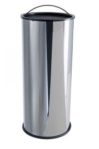 T775000 Portacenere acciaio inox a sabbia