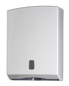 T104020 Distributore di carta asciugamani ABS bianco 400 fogli