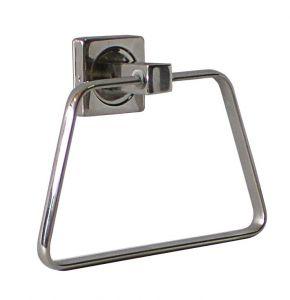 T105107 Porta asciugamani ad anello acciaio inox AISI 304 brillante