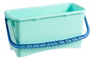 0B003213X Secchio Rettangolare Bcs 20 L - Blu - Verde Bcs