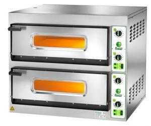 FES66M Forno elettrico pizza 14,4 kW doppia camera 66x99,5x14h cm - Monofase