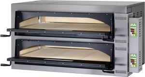 FMDW66M Forno elettrico pizza digitale 18kW doppia camera 108x72x14h cm - Monofase