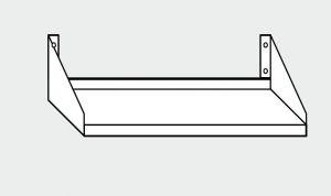 EU63803-10 ripiano a parete porta forno ECO cm 100x50x30h