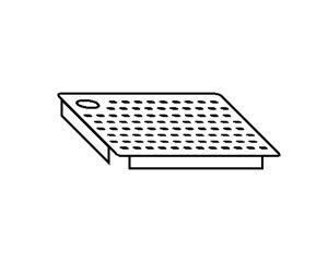 AC2023 Falsofondo Forato per Vasche SX 60x50