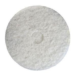 """T730418 Disco   bianco monospazzola 18"""" 457mm (confezione da 5 pz)"""