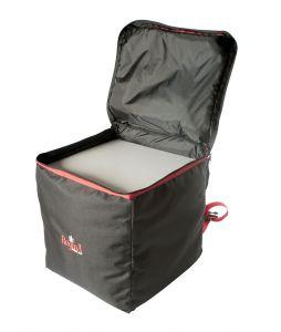 ZAIRE Zaino termico portapizze 36x36x40h cm per 10 cartoni pizza